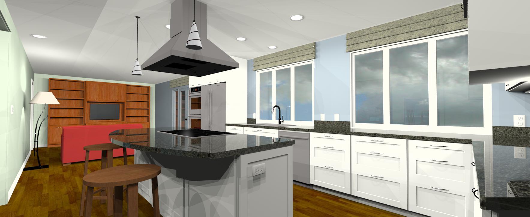 Art & Landscape Inspired Kitchen