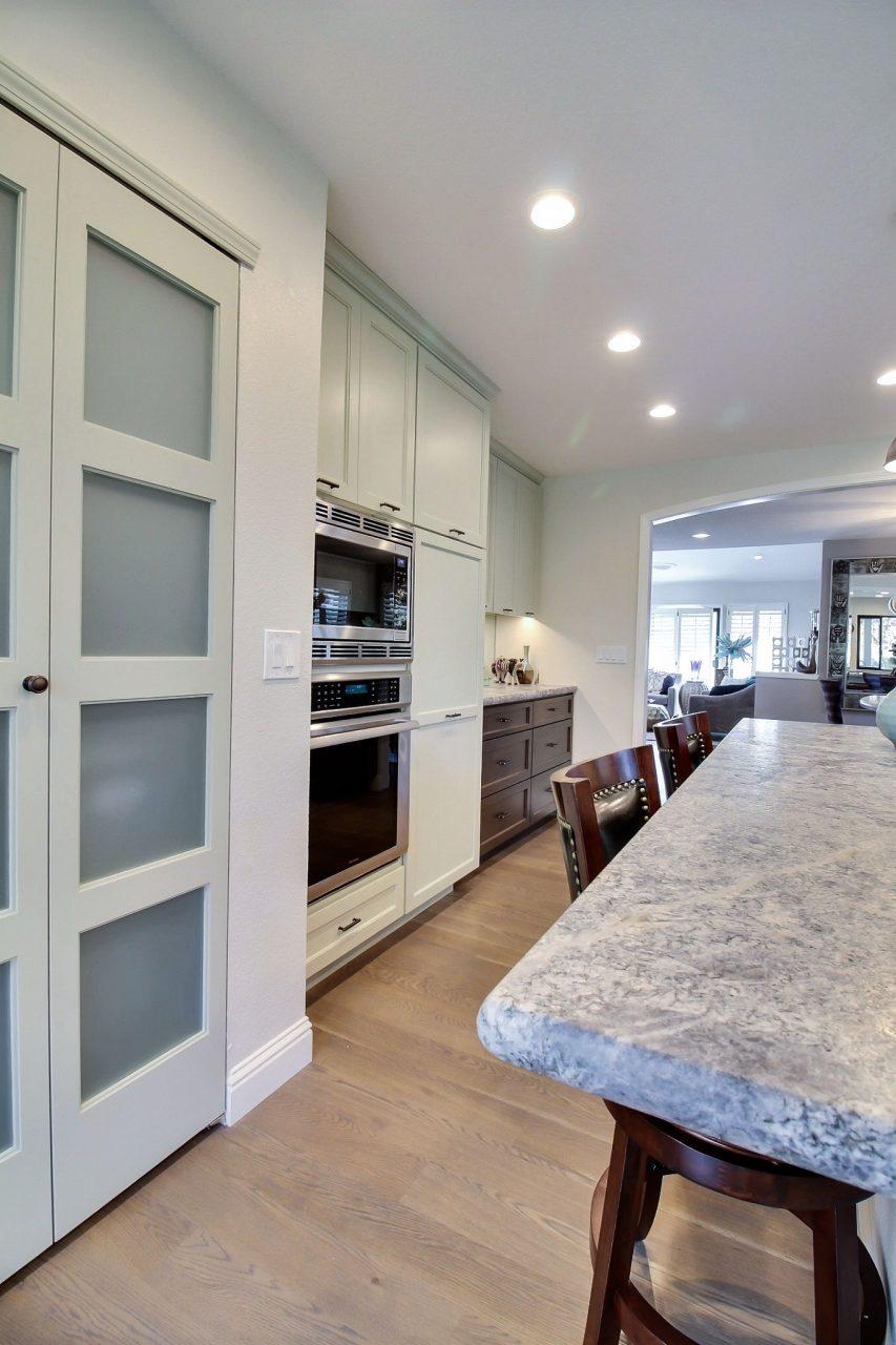 large kitchen cabinets