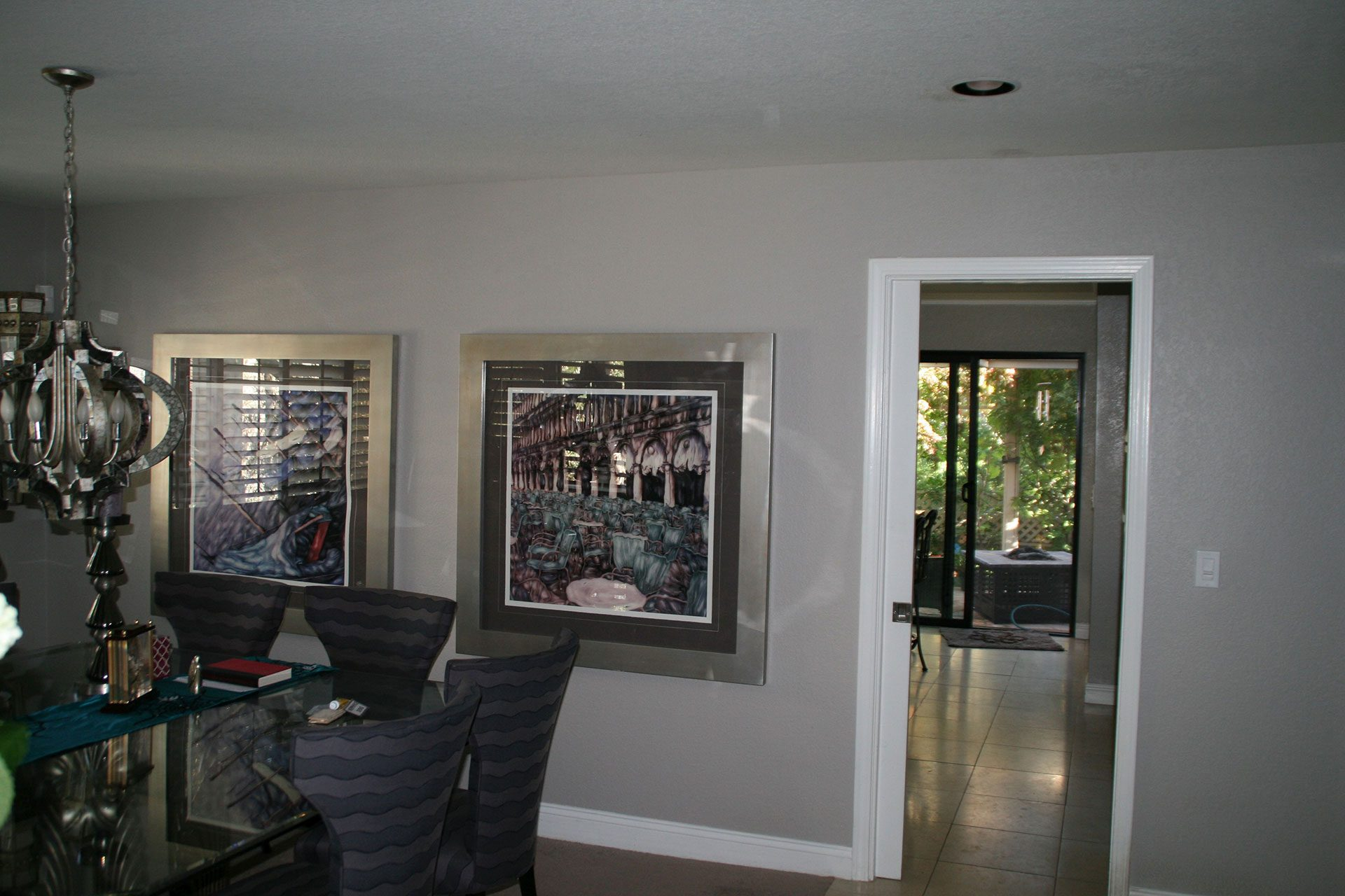 before remodel dining room