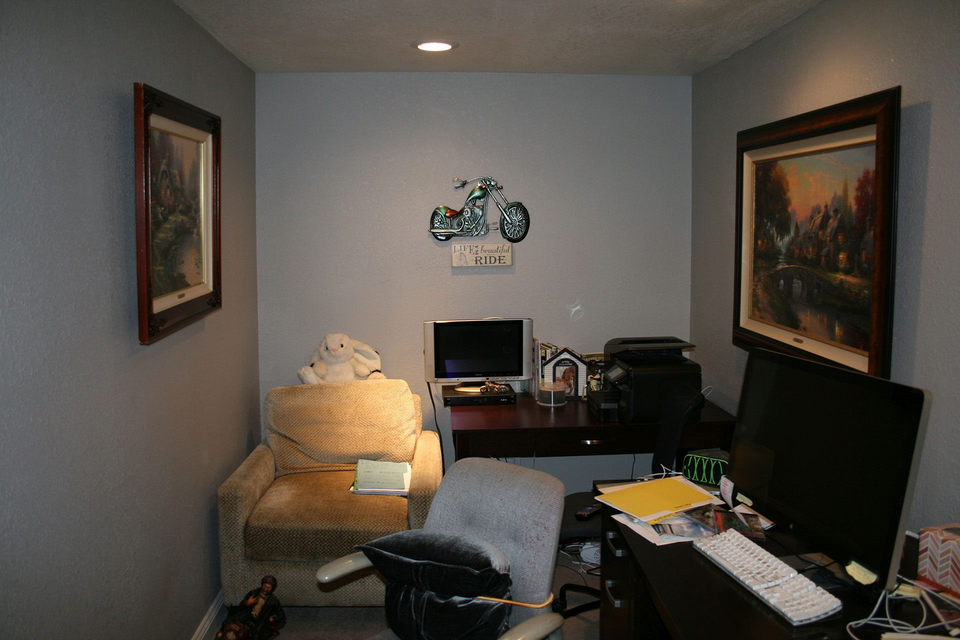 before transformation townhouse