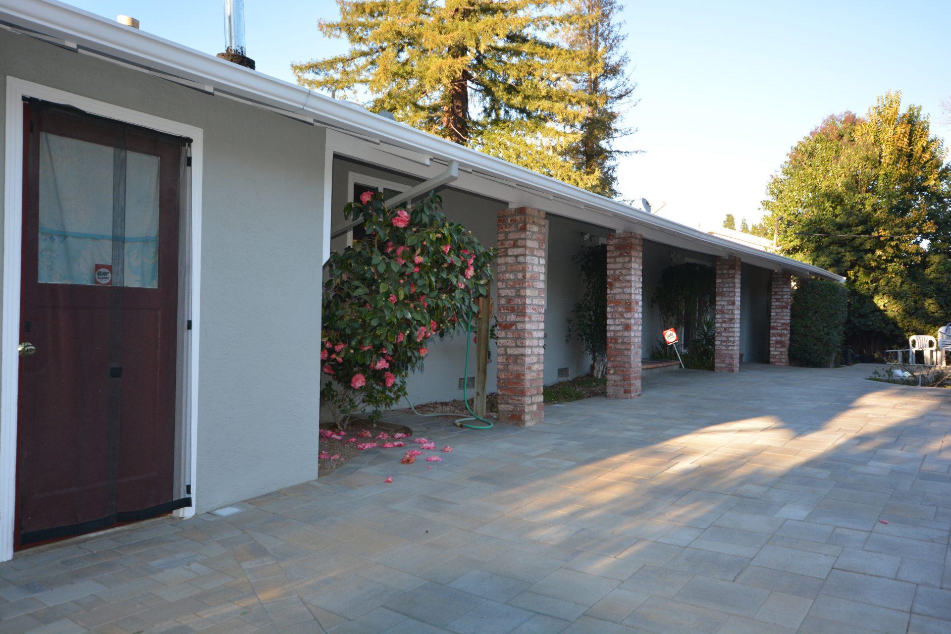 renovating backyard patio