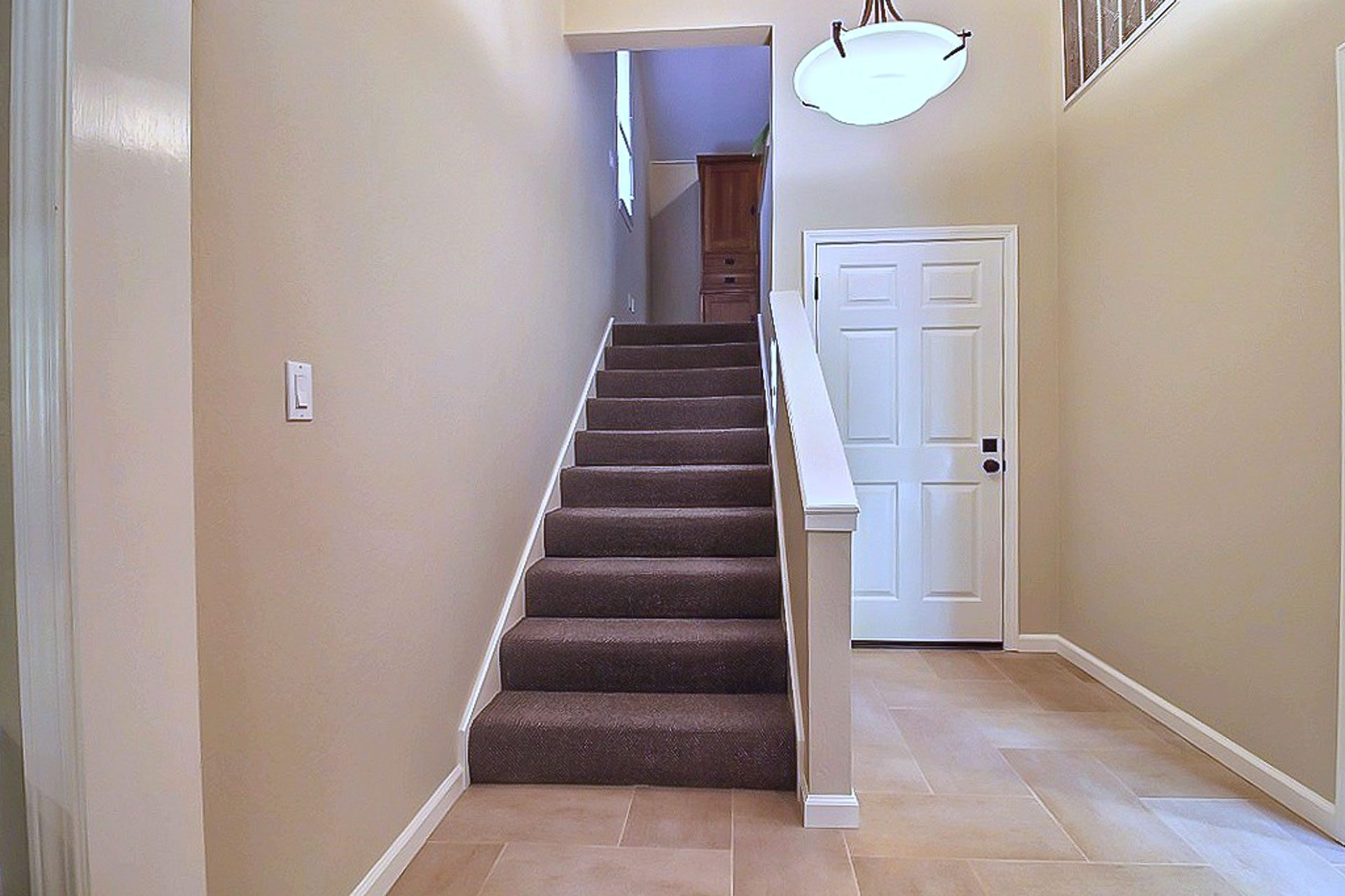 Remodeled entry way