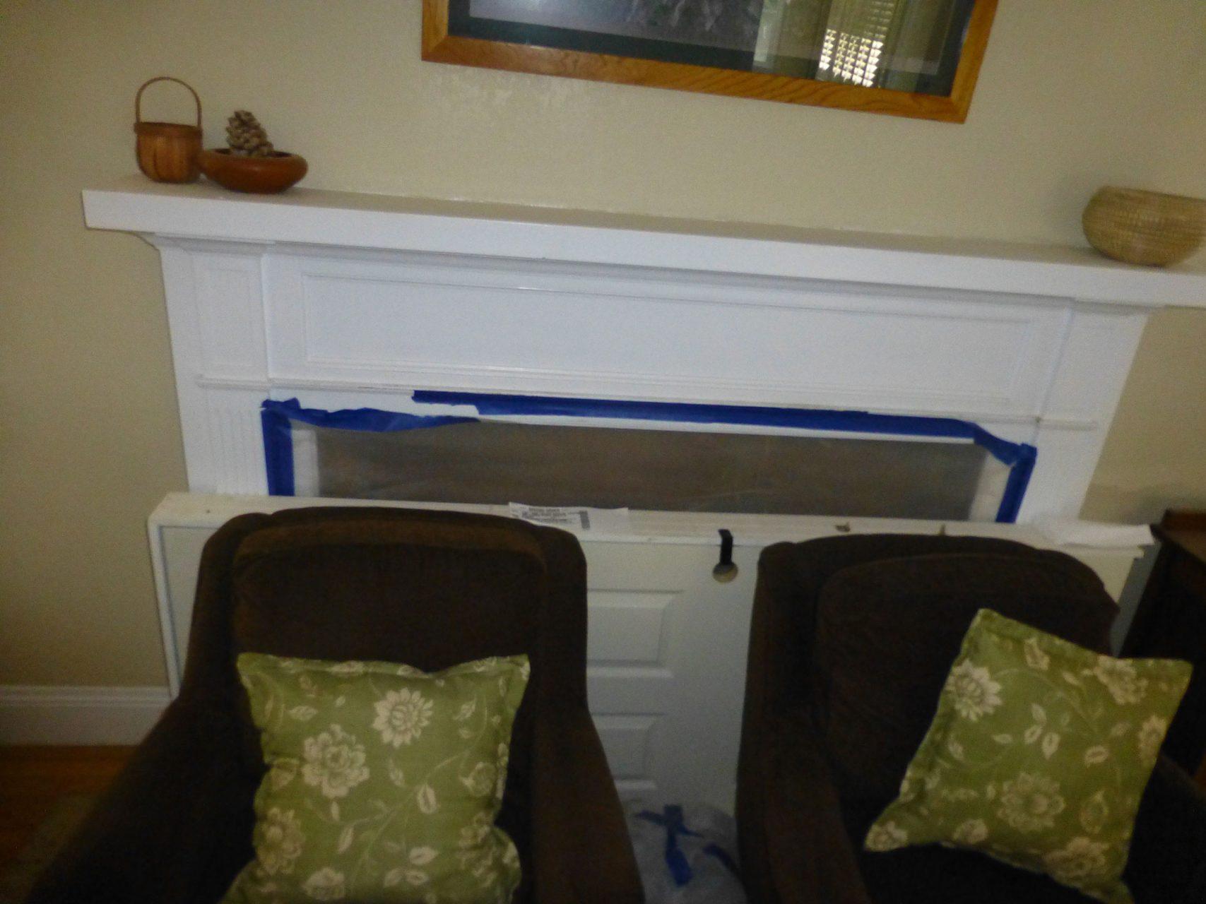 renovating fireplace
