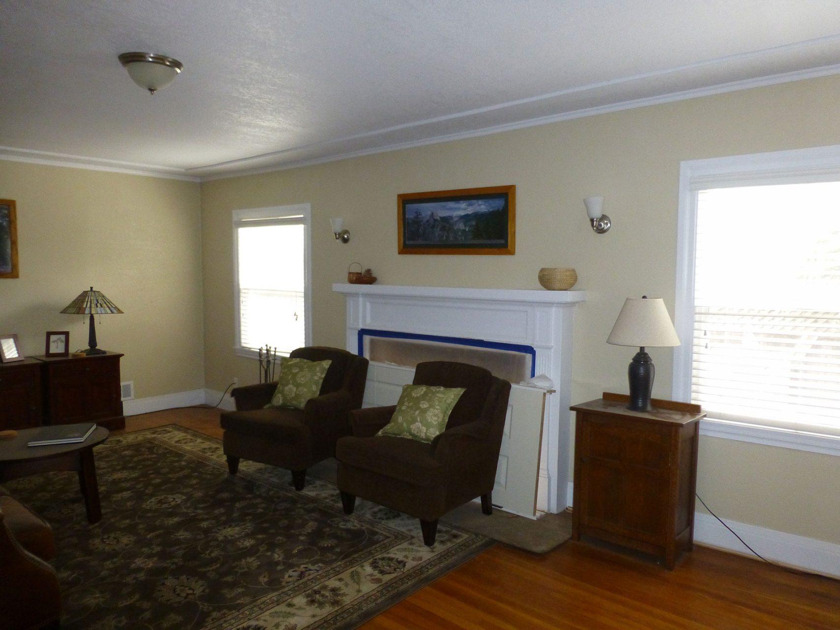 renovating living room