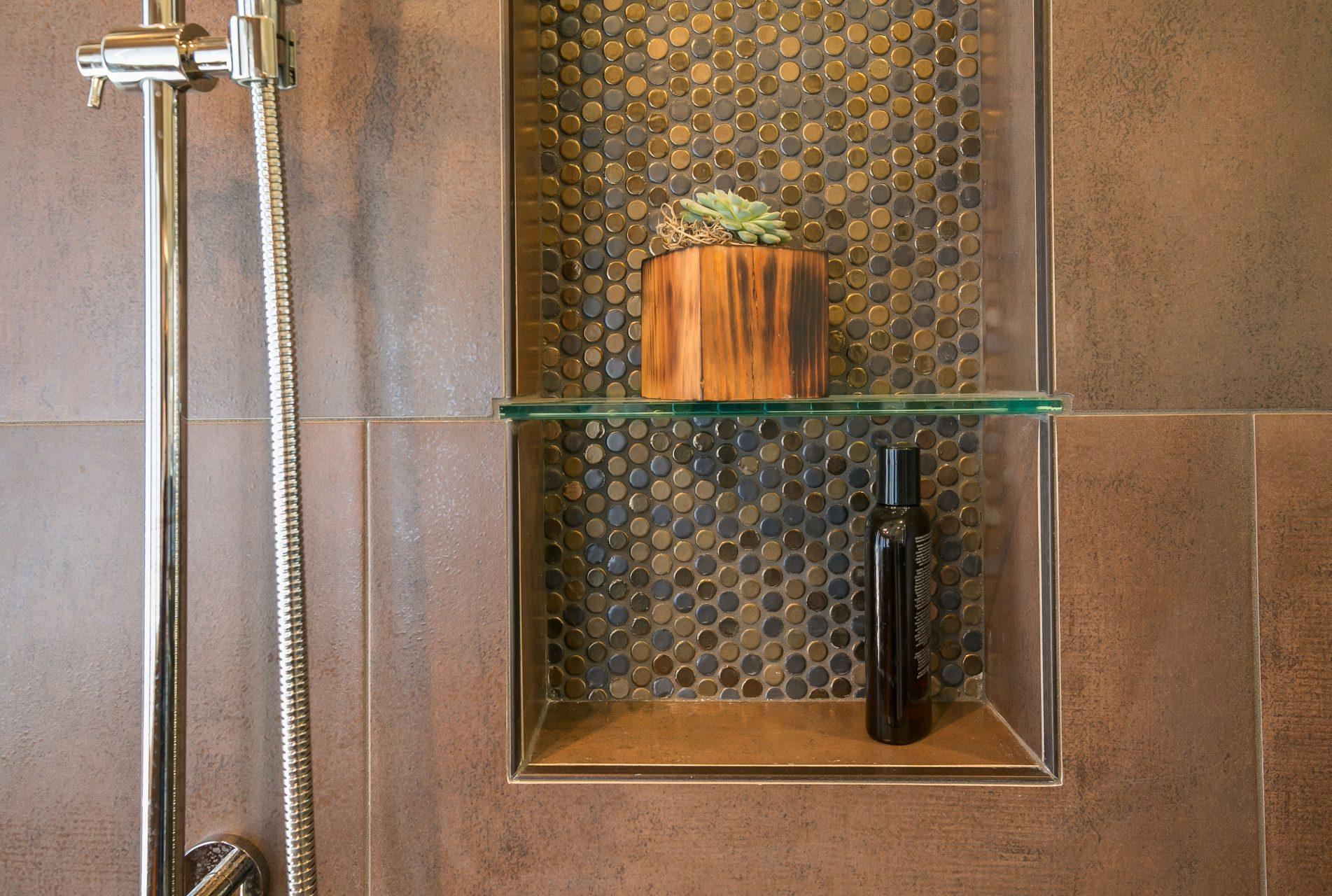 Customer shower