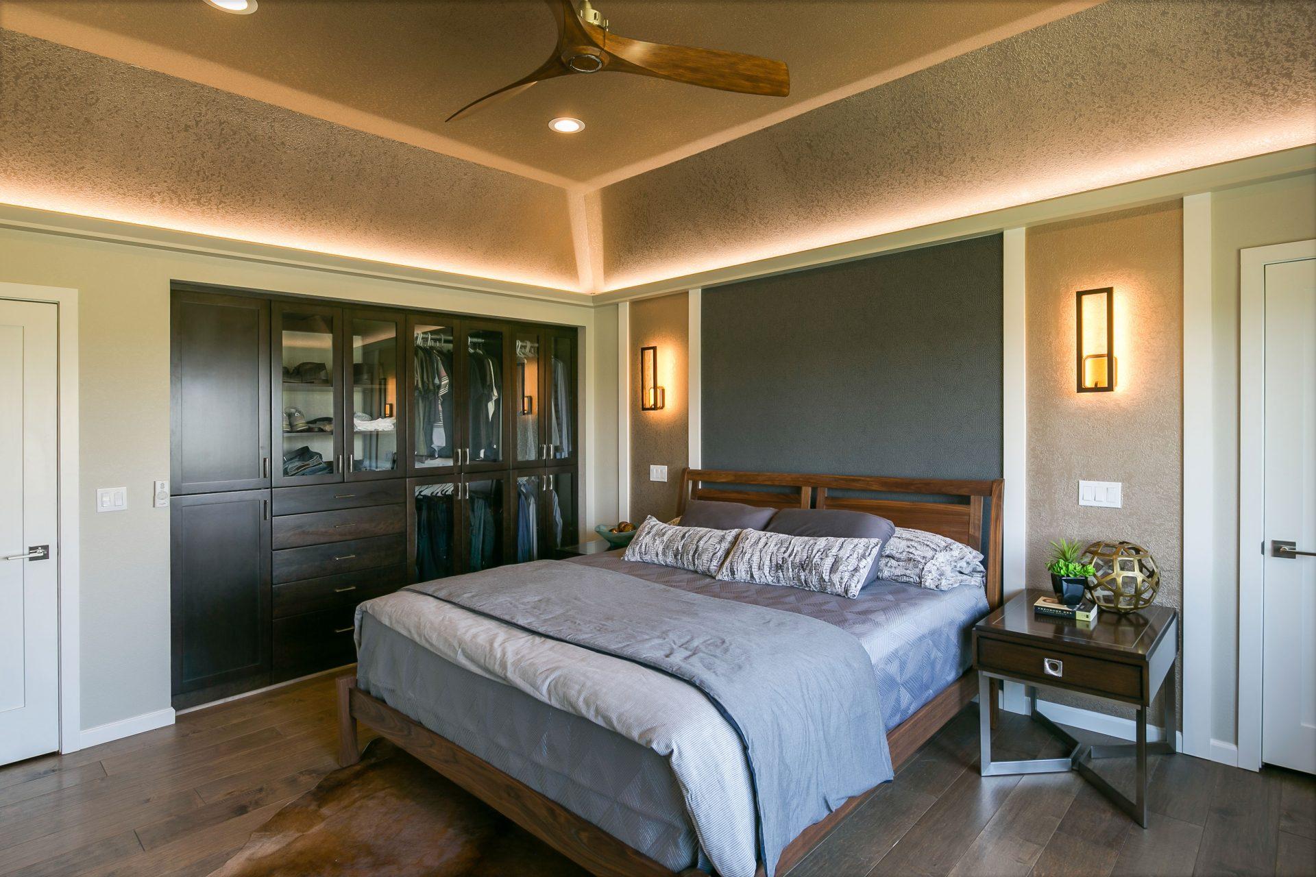 Custom master suite