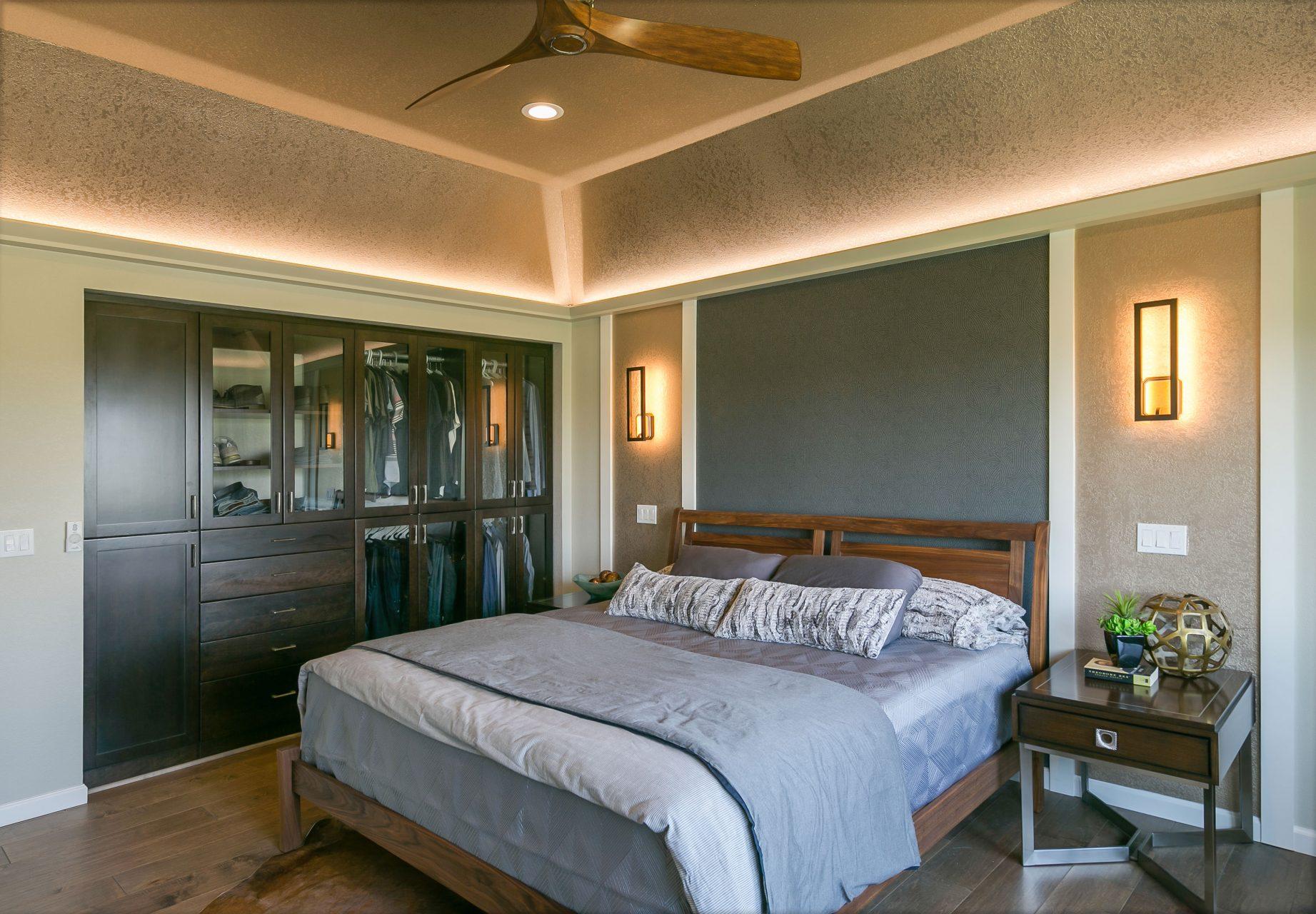 Trendy master suite