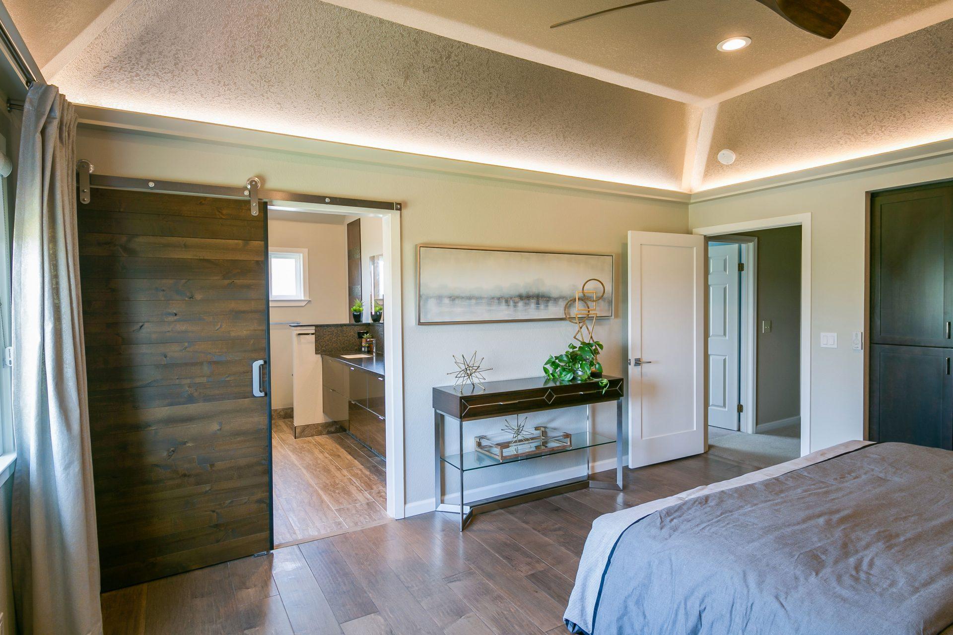 Remodeled master suite