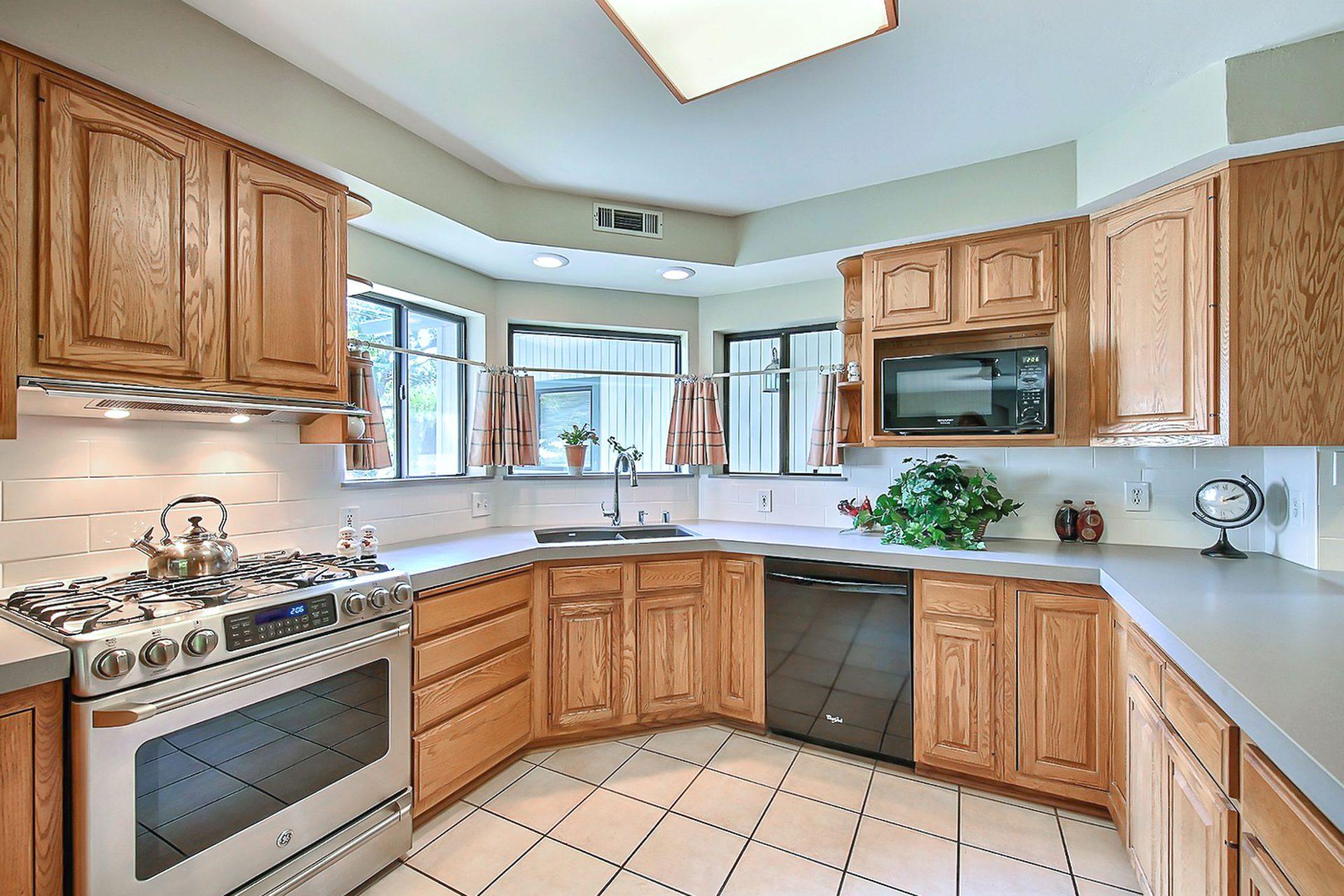 Kitchen area updated