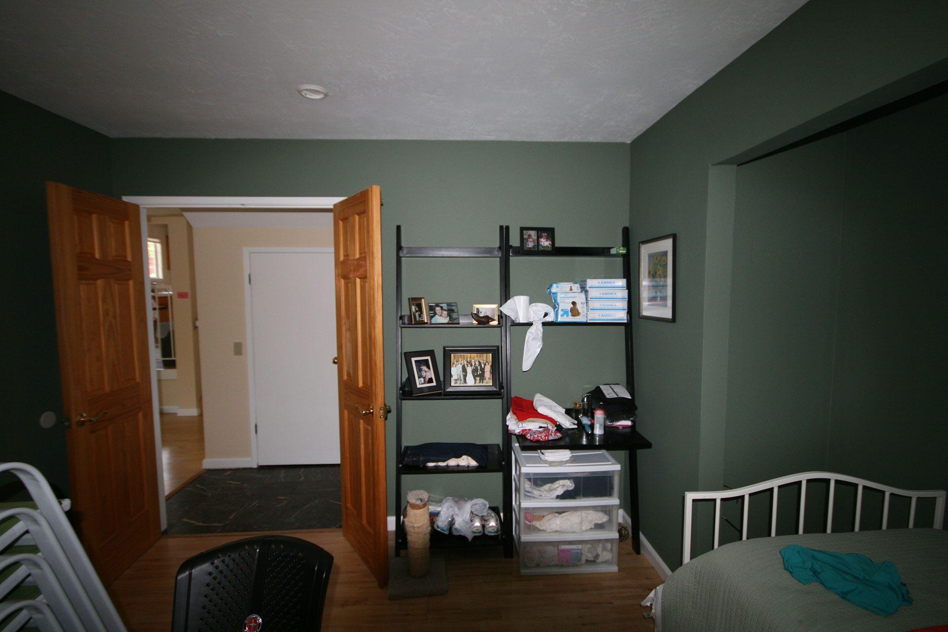 before master bedroom renovation