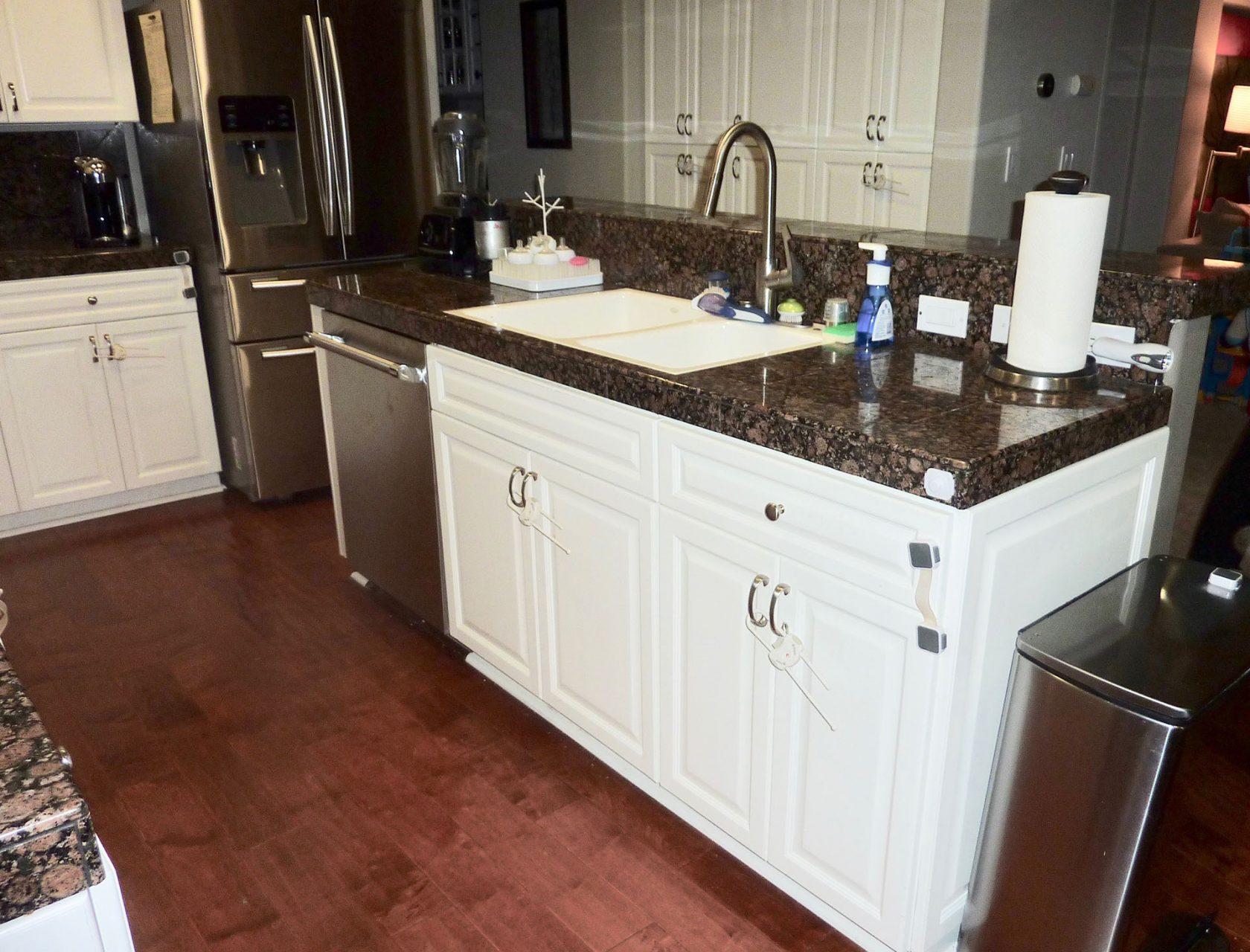 Kitchen needed remodel